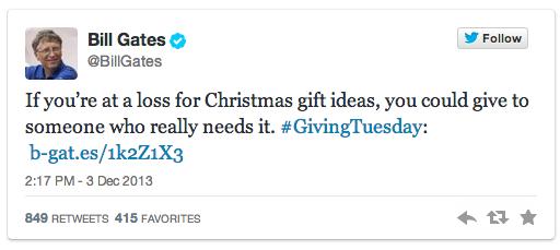 social media charity