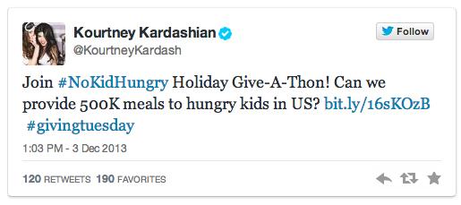 philanthropic social media