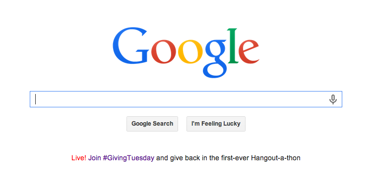 How does #GivingTuesday work