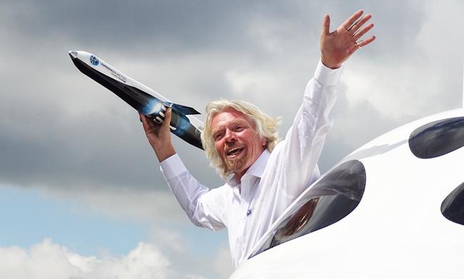 Richard Branson The Virgin Brand