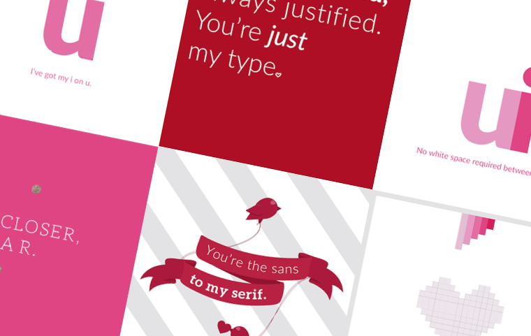 6 Valentines Day Cards for Your Favorite Designer