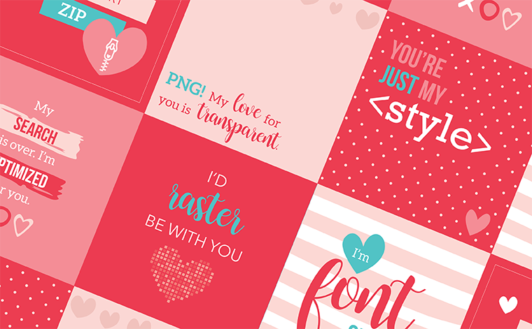 Made with Love: Six Design-Inspired Valentine's Cards